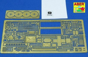 PHOTO-ETCHED UPGRADE SET FOR KUBELWAGEN TYPE 82 (TAMIYA, DRAGON)