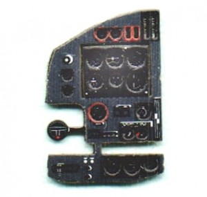 BLENHEIM MK IV COLORED, 3D, PE INSTRUMENT PANEL TO AIRFIX, MPM