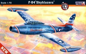 F-84 G THUNDERJET 'SKYBLAZERS' (USAF SPECIAL MARKINGS)