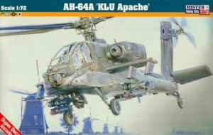 AH-64 A KLU APACHE (DUTCH, GREEK, ISRAELI & U.S. ARMY MKGS)