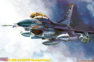 "F-16 D-30 FIGHTING FALCON ""SPANGDAHLEM"" (USAFE SHARKMOUTH MKGS)"