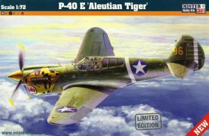 CURTISS P-40 E WARHAWK ALEUTIAN TIGER (USAAC MARKINGS)