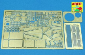 PHOTO-ETCHED UPGRADE SET FOR CROMWELL MK.I TO TAMIYA KIT