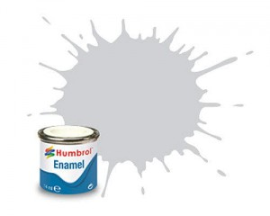 HUMBROL PAINT No 011 AA0120 SILVER