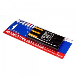 TAMIYA 74057 PORTABLE TOOL SET FOR DRILLING