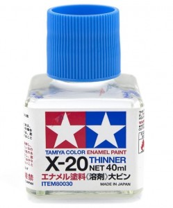 TAMIYA 80030 X-20 ENAMEL THINNER 40ml