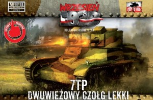 7 TP TWIN TURRET TANK (POLISH ARMY MKGS - 1939)#32 1/72 FIRST TO FIGHT