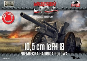 10,5cm Le.FH HEAVY GUN (WEHRMACHT MKGS)#37 1/72 FIRST TO FIGHT
