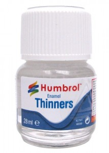 HUMBROL 0008 ENAMEL THINNERS AC7501 - 28ml Bottle
