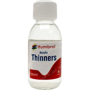 HUMBROL 7433 ACRYLIC THINNERS  125ML ac7433