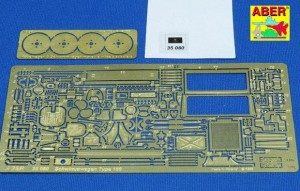 PHOTO-ETCHED UPGRADE SET FOR SCHWIMMWAGEN TYPE 166 ( TAMIYA )