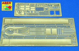 VICKERS-E/F-45/SIX TON BRITISH TANK PHOTO-ETCHED DETAIL SET