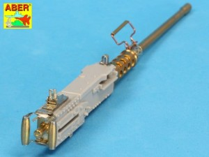 0.50in BROWNING M2 HB BARREL & HANDLES TO SHERMAN, ABRAMS, ETC