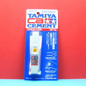TAMIYA 87062 CA CEMENT - QUICK TYPE