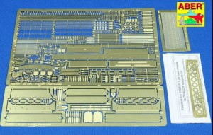 T-34/85 PHOTO-ETCHED EXTERIOR DETAIL SET FOR TAMIYA
