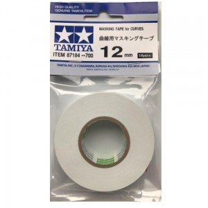 TAMIYA 87184 MASKING TAPE FOR CURVES 12mm